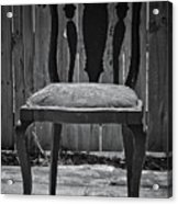 A Chair In Despair Acrylic Print