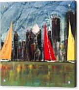 A Chicago Sail Acrylic Print