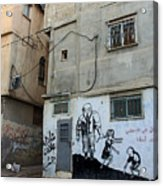 A Child In Palestine Acrylic Print