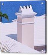A Chimney At Tucker's Point, Bermuda Acrylic Print