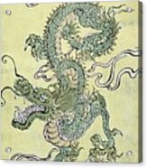 A Chinese Dragon Acrylic Print