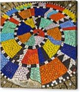 A Chip Off The Ole Mosaic Acrylic Print