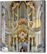A Church Filled With Music - Church Of Our Lady Dresden Acrylic Print