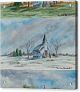 A Church For All Seasons Acrylic Print