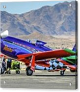 A Closer Look At Voodoo Engine Start Sundays Unlimited Gold Race Acrylic Print