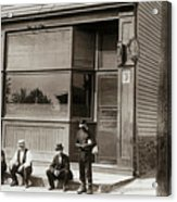 A Coal Miners Bar  George Ave Parsons Pennsylvania Early 1900s Acrylic Print