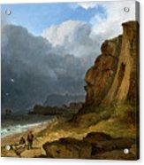 A Coastal Scene Acrylic Print