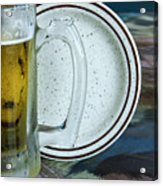 A Cold One For A Treat Acrylic Print