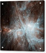 A Colony Of Hot Young Stars Acrylic Print by Stocktrek Images
