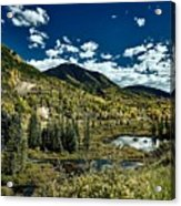 A Colorado Autumn Acrylic Print