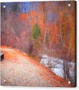 A Colourful Winter Acrylic Print