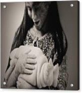 A Confortadora - Work By Patricia Piccnini Acrylic Print