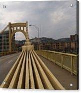 A Confounded Bridge Acrylic Print by Jacob Stempky
