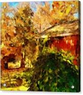 A Corner Of Autumn  Acrylic Print