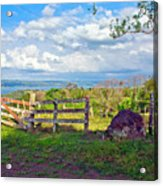 A Costa Rica View Acrylic Print