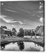 A Country Place Bw Acrylic Print