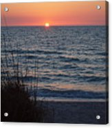 A Country Sunset Acrylic Print