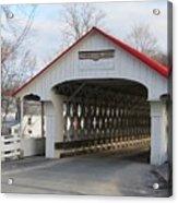 A Covered Bridge Acrylic Print