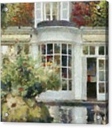 A Cozy House In Brittany Acrylic Print