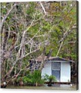 A Cozy Spot On The Apalachicola River Acrylic Print