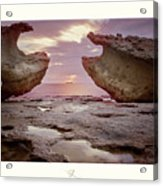 A Crab Stone, By The Cosmic Joker Acrylic Print