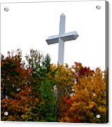 A Cross In Tennessee Acrylic Print