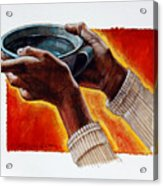 A Cup Of Water Acrylic Print