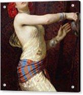 A Damascan Dancer Acrylic Print