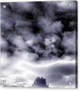 A Dark Heaven's Storm Acrylic Print