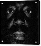 A Dark Proud Man Acrylic Print
