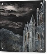 A Dark Strange Night  Acrylic Print