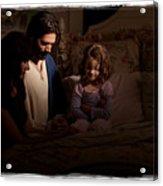 A Daughter's Prayer Acrylic Print by Helen Thomas Robson