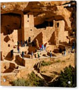A Day At Mesa Verde Acrylic Print