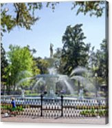A Day At The Park Acrylic Print