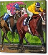 A Day At The Races Acrylic Print
