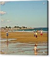 A Day At Wells Beach Acrylic Print