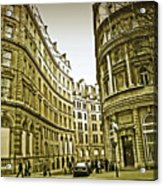 A Day In London Acrylic Print