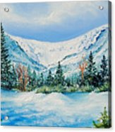 A Day In Tuckerman's Acrylic Print