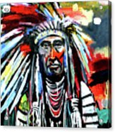 A Decorated Chief 1 Acrylic Print