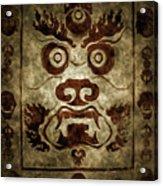 A Demonic Face Acrylic Print