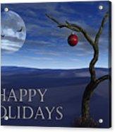 A Desert Christmas Acrylic Print