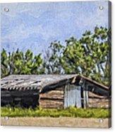A Deserted Farm Acrylic Print