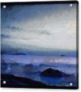 A Distant Beacon Acrylic Print