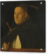 A Dominican With The Attributes Of Saint Peter Martyr Acrylic Print