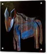A Donkey Named Frog Acrylic Print