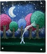 A Dream In The Forest Acrylic Print