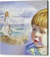 A Dream Of An Ocean Acrylic Print