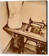 A Dressmakers Corner Acrylic Print