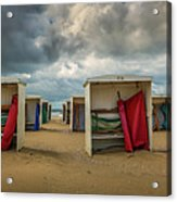 A Dutch Summer At The Beach Acrylic Print