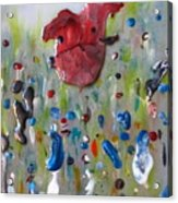 A Face In The Crowd Acrylic Print
